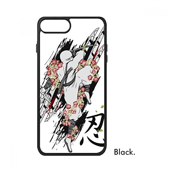 Amazon.com: Japan Culture Ninja Samurai Sword For iPhone 8/8 ...