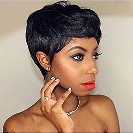 Amazon Yowigs Afro Wigs Short Curly Pixie Cut Wigs For Black