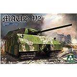 タコム 1/35 第二次世界大戦 ドイツ超重戦車 マウスV2 プラモデル TKO2050