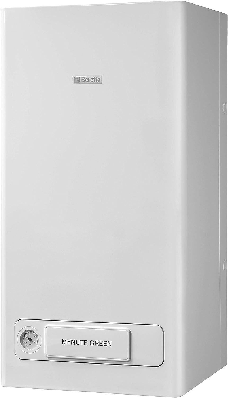 Beretta 20142424 - Caldera de condensación Mynute Green E 25 C.S.I. MTN, color blanco
