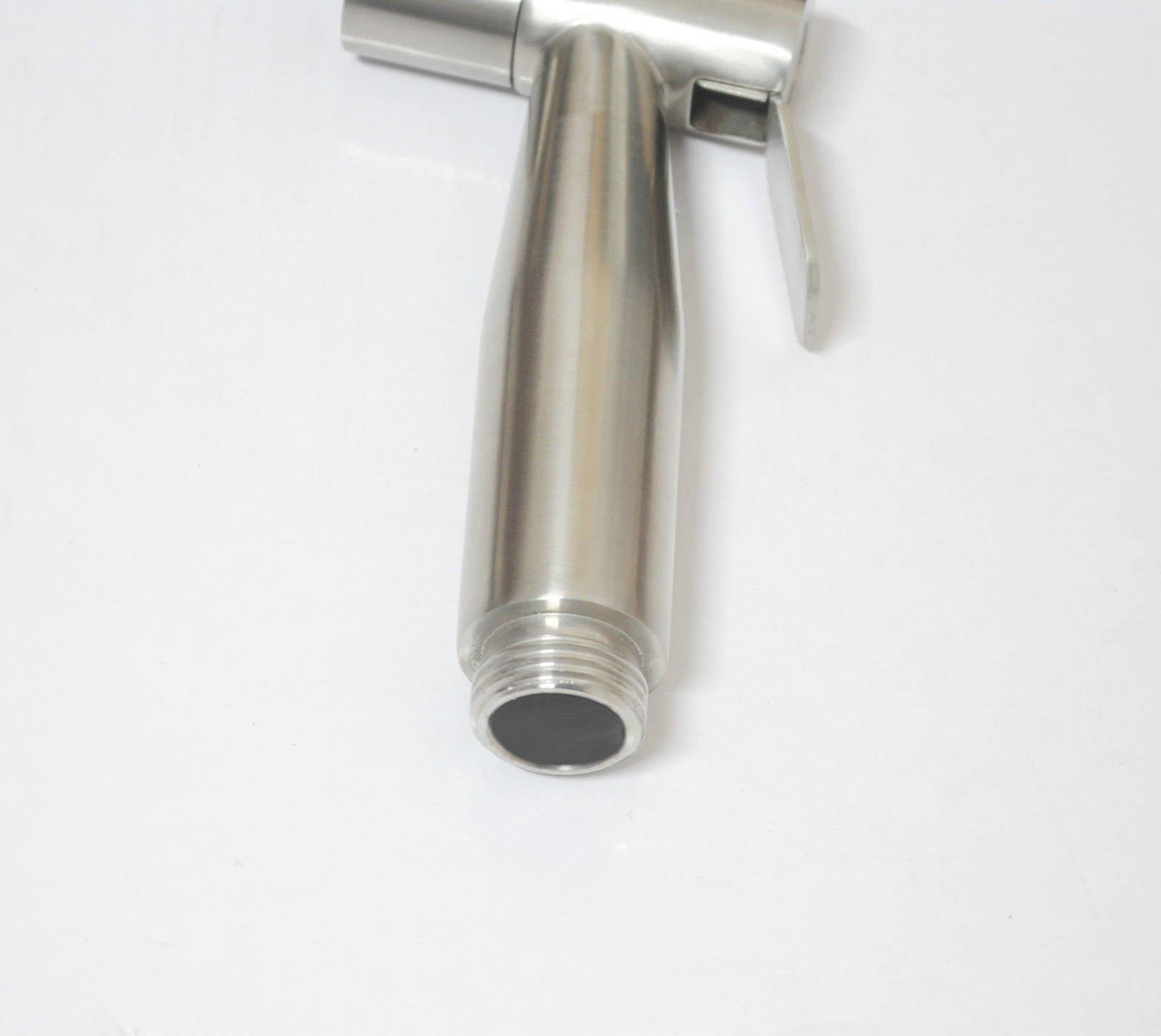Ownace Bathroom Bidet Sprayer Head Only, Stainless Steel Brushed Nickel Diaper Sprayer