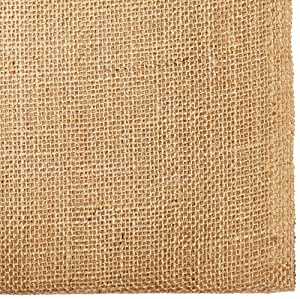 "AK TRADING CO. Burlap Natural, X 5 Yards Long, 40"" Wide"