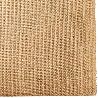 "AK TRADING CO. BUR40-5YDS  Burlap Natural, X 5 Yards Long, 40"" Wide"