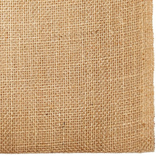 (AK TRADING CO. BUR40-5YDS Burlap Natural, X 5 Yards Long, 40