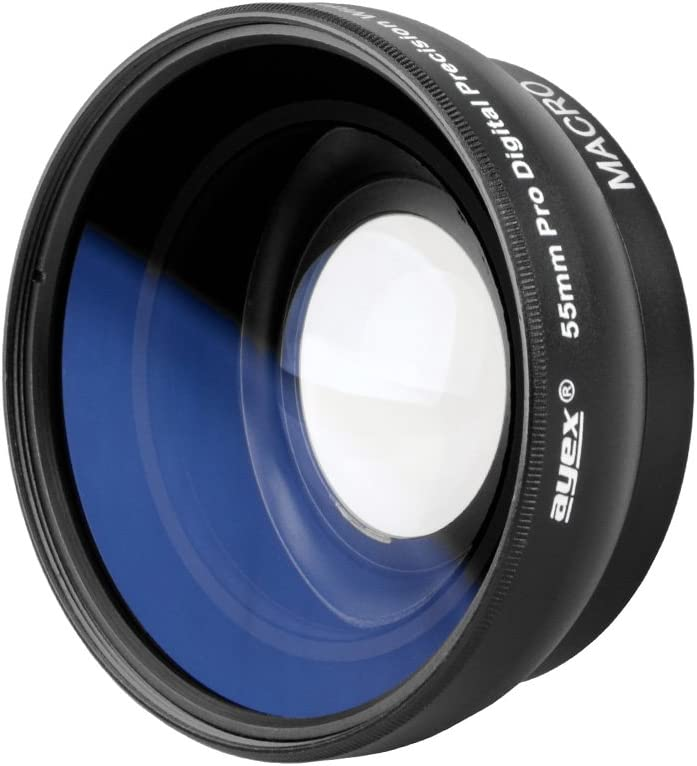 Ayex Wide-Angle Conversion Lens 0.45x Multi Coated Wide Angle Lens for 55/ mm Connection Thread