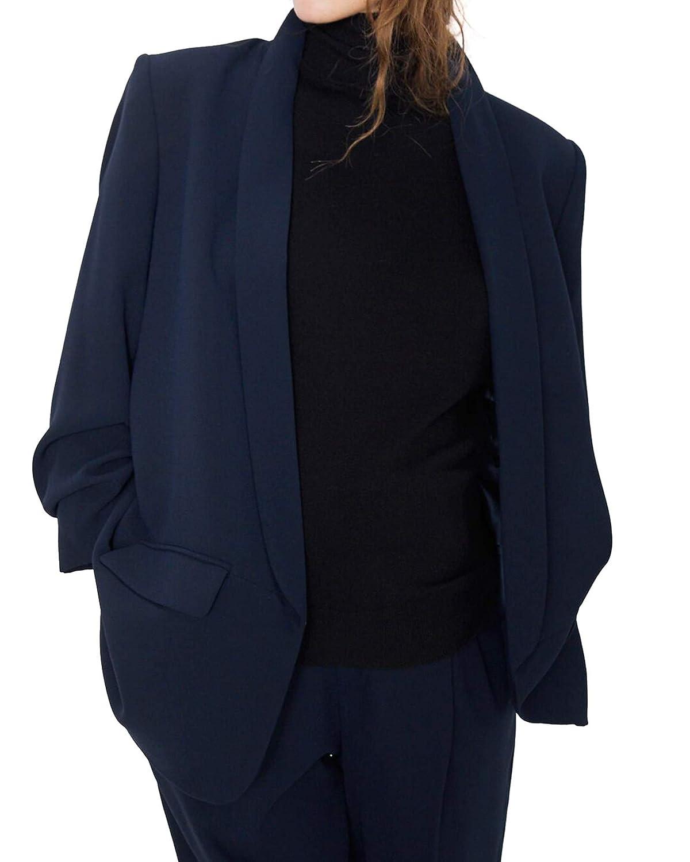 Zara 7794/778/401 - Blazer para Mujer con Mangas giratorias Azul ...