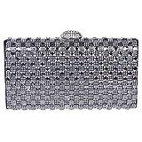 Fawziya Bling Envelope Clutch Purse Rhinestone Crystal Evening Clutch Bags
