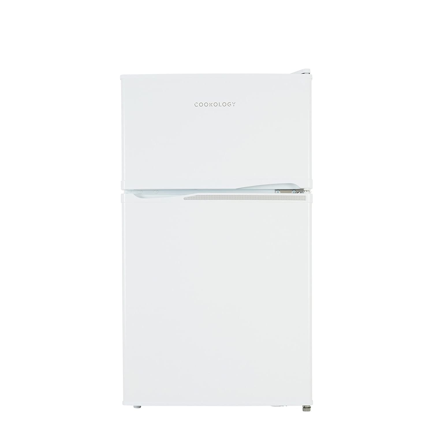 Cookology UCFF87WH 47cm Freestanding Undercounter 2 Door Fridge Freezer in White [Energy Class A+]