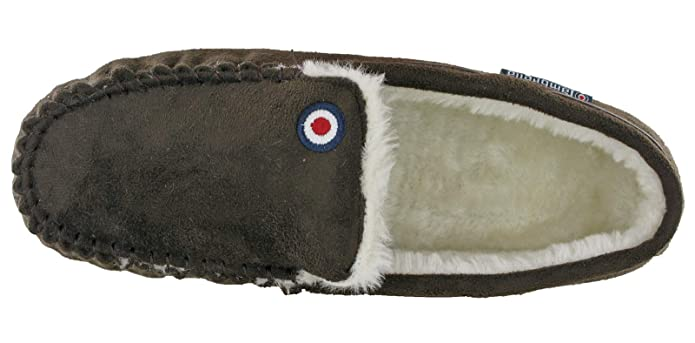 580b1ddcbadc Lambretta Moccasins Mens Herringbone Slippers Boxed Gift  Amazon.co.uk   Shoes   Bags