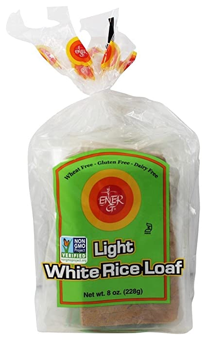 Ener-G Foods Light White Rice Loaf, 8-Ounce Packages (Pack of 6)