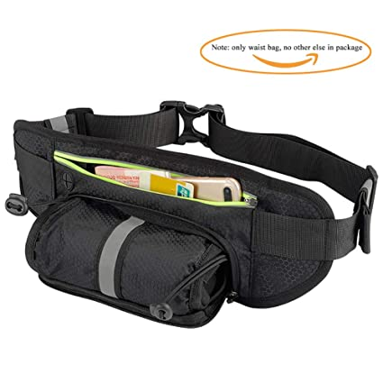 Home Symbol Of The Brand Running Waist Bags Travel Fanny Belt With Water Bottle Holder Multifunction Adjustable Sports Pack Running Belt For Iphone