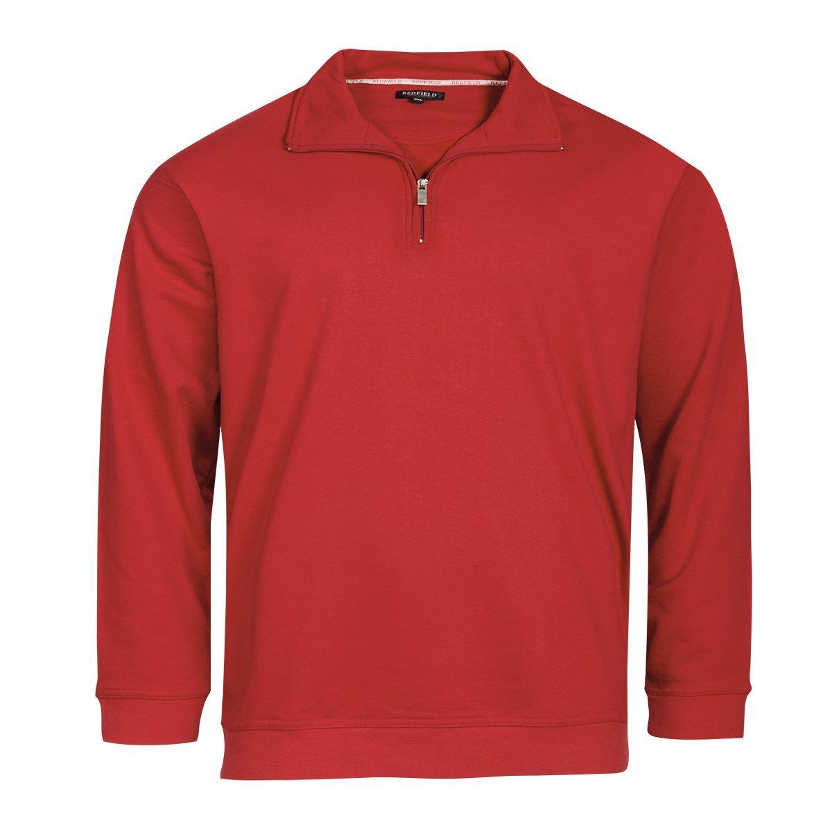 REDFIELD troyer-sweat-shirt hibiscusrot XXL
