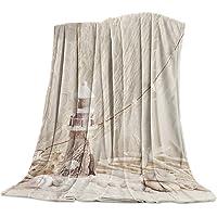 Lightweight Cozy Bed Blanket Throw Fuzzy Super Soft and Warm Throw Flannel Blankets...