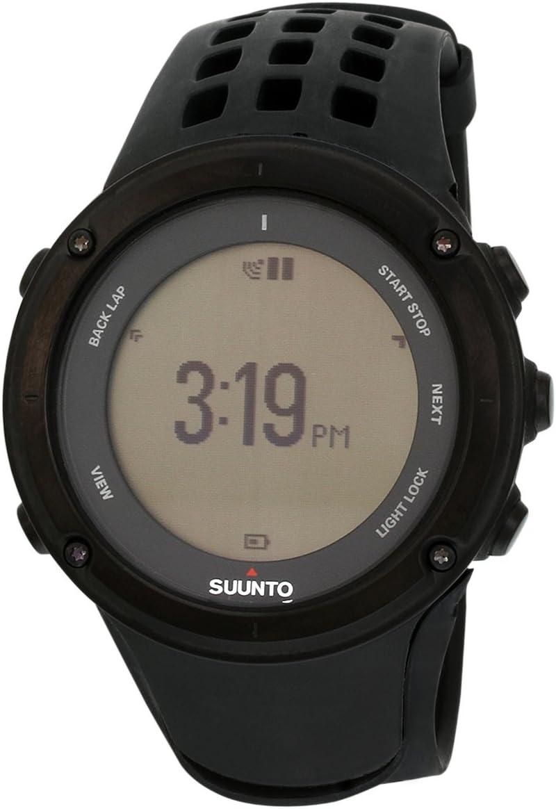 Suunto Ambit2 Black (HR) Reloj con GPS Integrado, Unisex, Negro ...