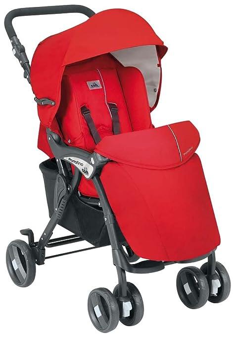 Cam - Cochecito de bebé, modelo Portofino 822 Rosso (col 24)