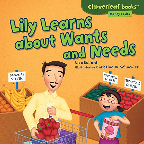 Buy cheap lily learns about wants and needs cloverleaf books money basics