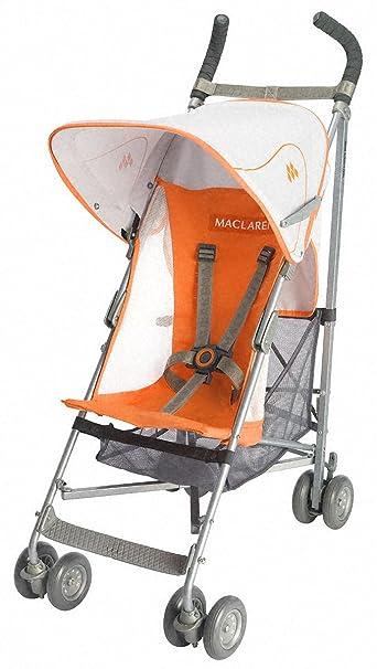Amazon.com : Maclaren Volo Stroller, Orange Flame (Discontinued by