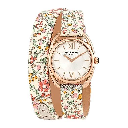 Reloj para Mujer con Esfera Plateada de San Honor Charisma 721544 8AIR-F.