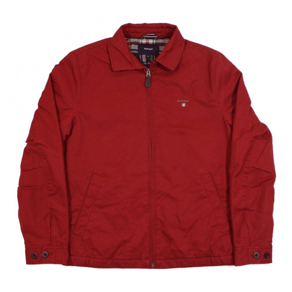 Gant Windcheater-Chaqueta Hombre Rojo Rosso Small: Amazon.es ...