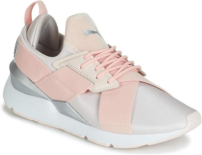 PUMA Muse Satin II Wns, Zapatillas de Running para Mujer: Amazon.es: Zapatos y complementos