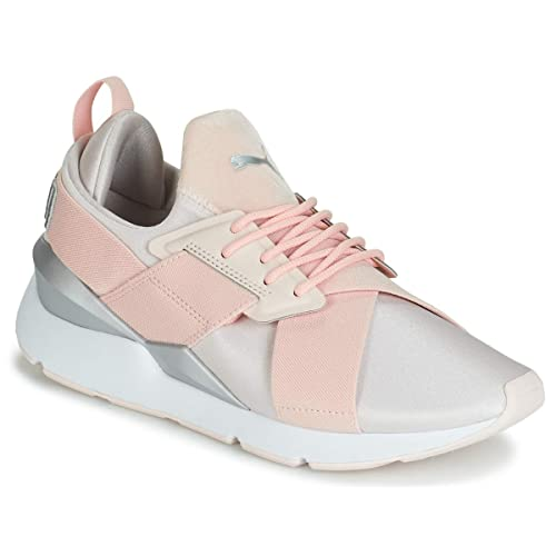 Puma Muse Satin Wn's Pearl Silver 368427 10: Amazon.it