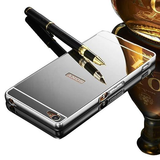 3 opinioni per Cover Sony Xperia M5 Custodia, Vandot Ultra Sottile Metallo Case Cover in