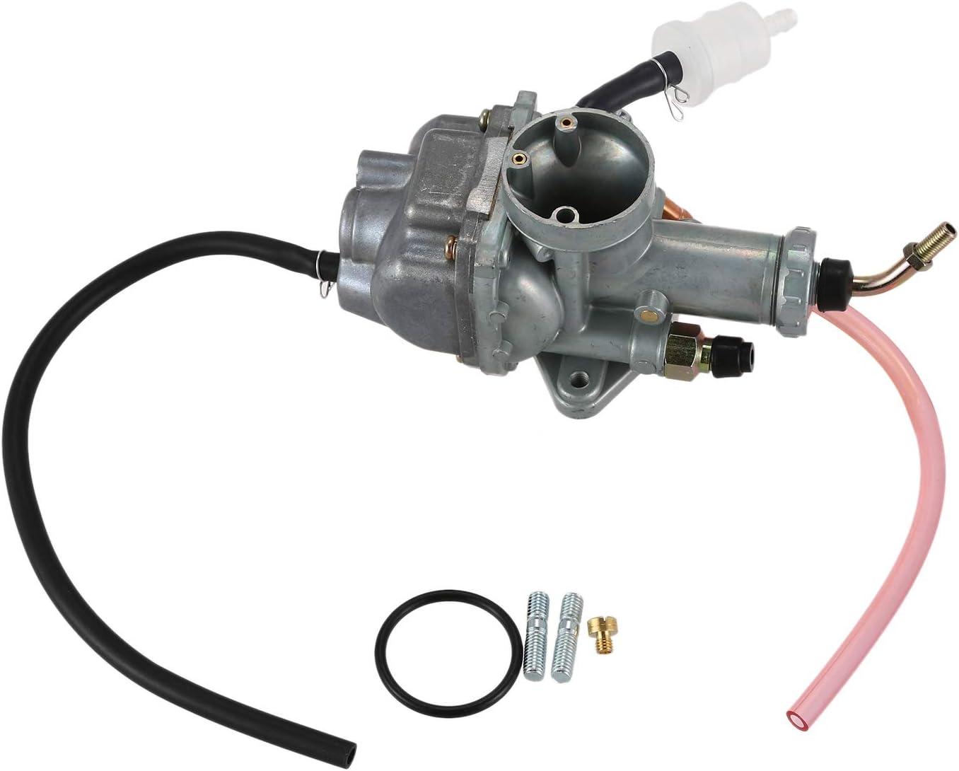 WOVELOT Carburateur pour Breeze 125 YFA1 Moto 4 YFM225 Timberwolf 250 YFB250