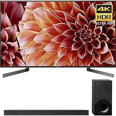 Sony 55-Inch 4K Ultra HD Smart LED TV 2018 Model (XBR55X900F) with Sony 2.1ch Soundbar with Dolby Atmos
