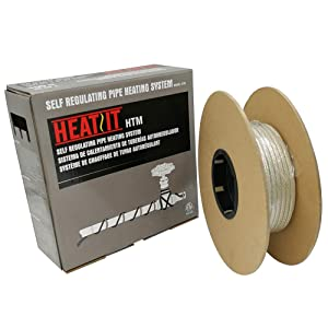 HEATIT Mobile Home 300-feet HEATIT HTM Braid Self Regulating heating cable Water Line Freeze Protection