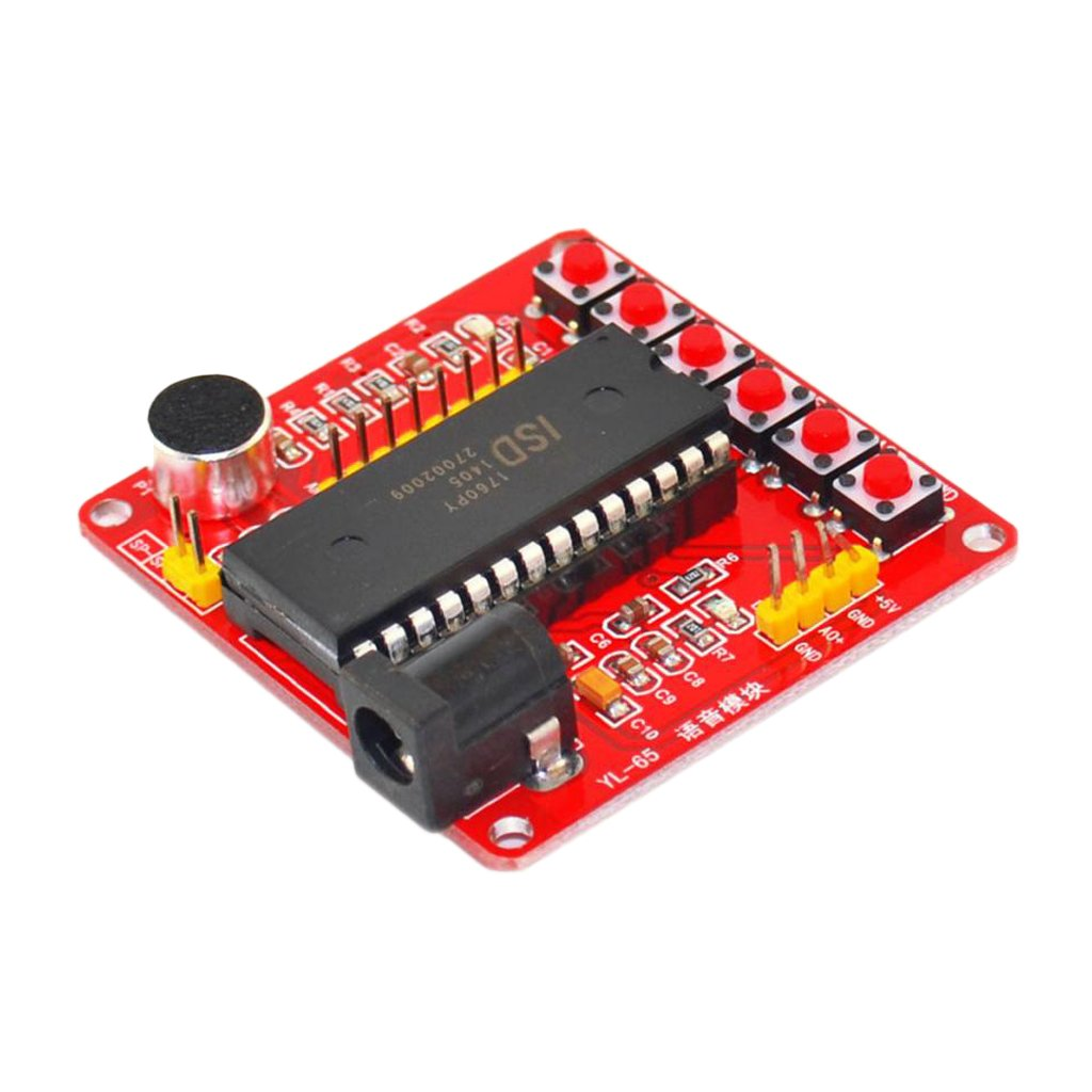 Homyl ISD1700 Series Sound Voice Recordable Recording Module ISD1700 Chip for DIY Audio Cards