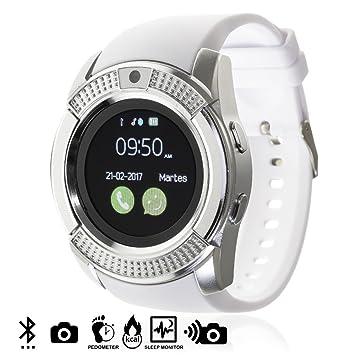 DAM TEKKIWEAR. DMV023WHITE. Smartwatch Bluetooth con Sim ...