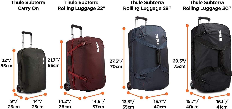 Thule Thule Subterra Mallette Ordinateur /à/ roulettes 55 cm