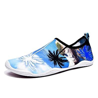 Herren Aqua Schuhe Männer Sommer Strand Schuhe Outdoor Wanderschuhe Paar  Schnell Trocknende Schwimmschuhe Unisex Leichte Wasser Schuhe  Amazon.de   Schuhe   ... ee27e8d7df