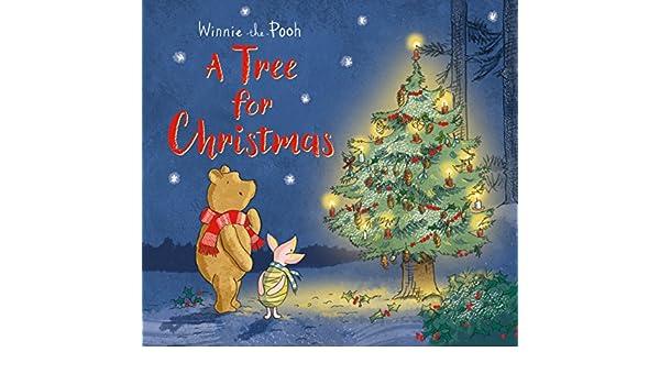 winnie the pooh a tree for christmas 9781405291101 amazoncom books