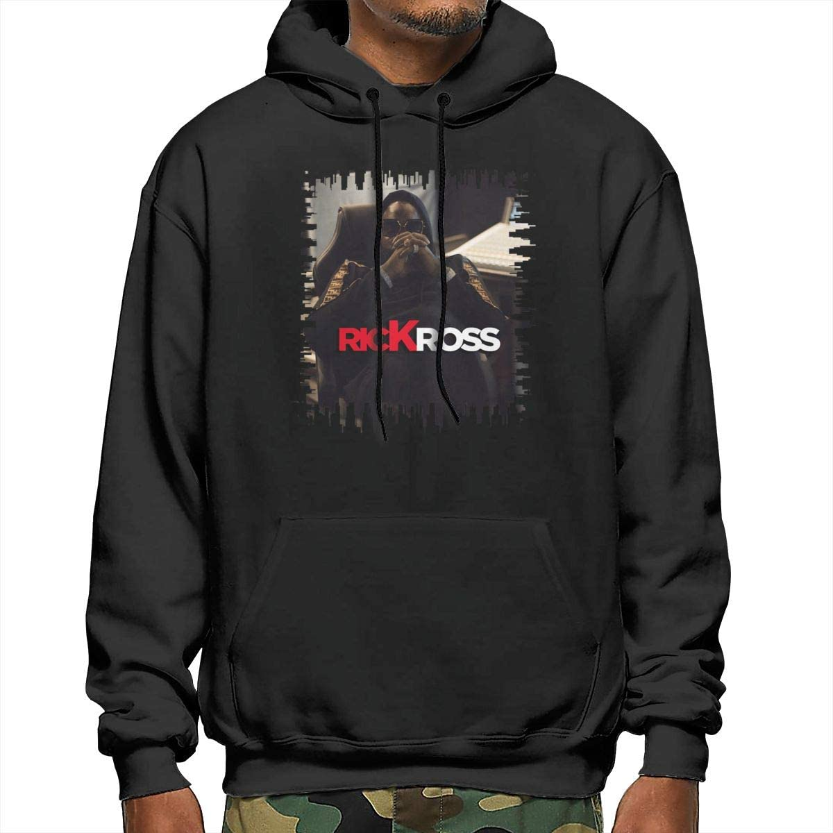 NathalieRSalmeron Rick Ross Mens Pullover,Casual Long Sleeve Outwear