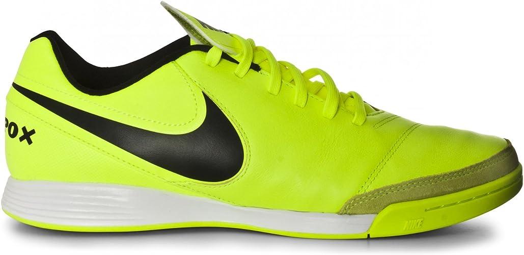 Nike , Chaussures pour Homme spécial Foot en Salle Jaune
