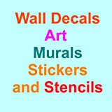 wall decals amazon - Wall Decals, Art, Murals, Stickers and Stencils