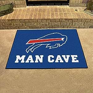 Amazon Com Buffalo Bills Man Cave All Star Rug 34 Quot X45