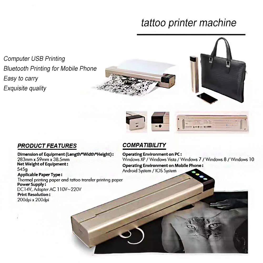 DXXCV - Plantilla de Tatuaje para fotocopiadora, portátil ...