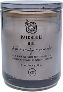 DW Home Patchouli Oud Scented Candle