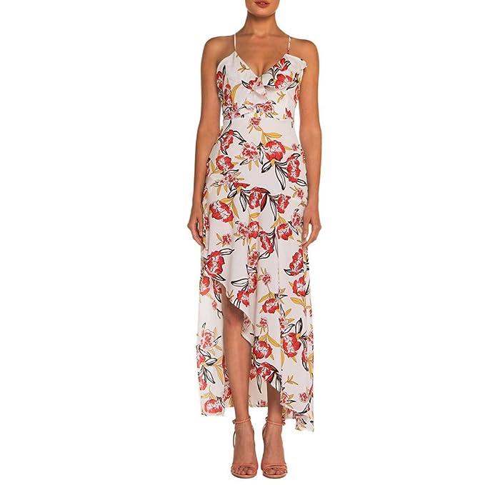 Vestidos de Verano Mujer 2019 Largos, Vestido de Viaje Bohemio ...