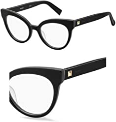 Max Mara Max Mara 1285 0HEH Bkgy Mother Of Pearl Black Eyeglasses