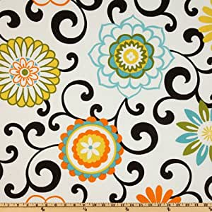 Waverly Pom Pom Play Confetti Fabric By The Yard