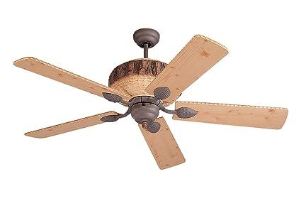 Monte carlo 5gl52wi great lodge 52 ceiling fan weathered iron monte carlo 5gl52wi great lodge 52quot ceiling fan weathered iron aloadofball Image collections