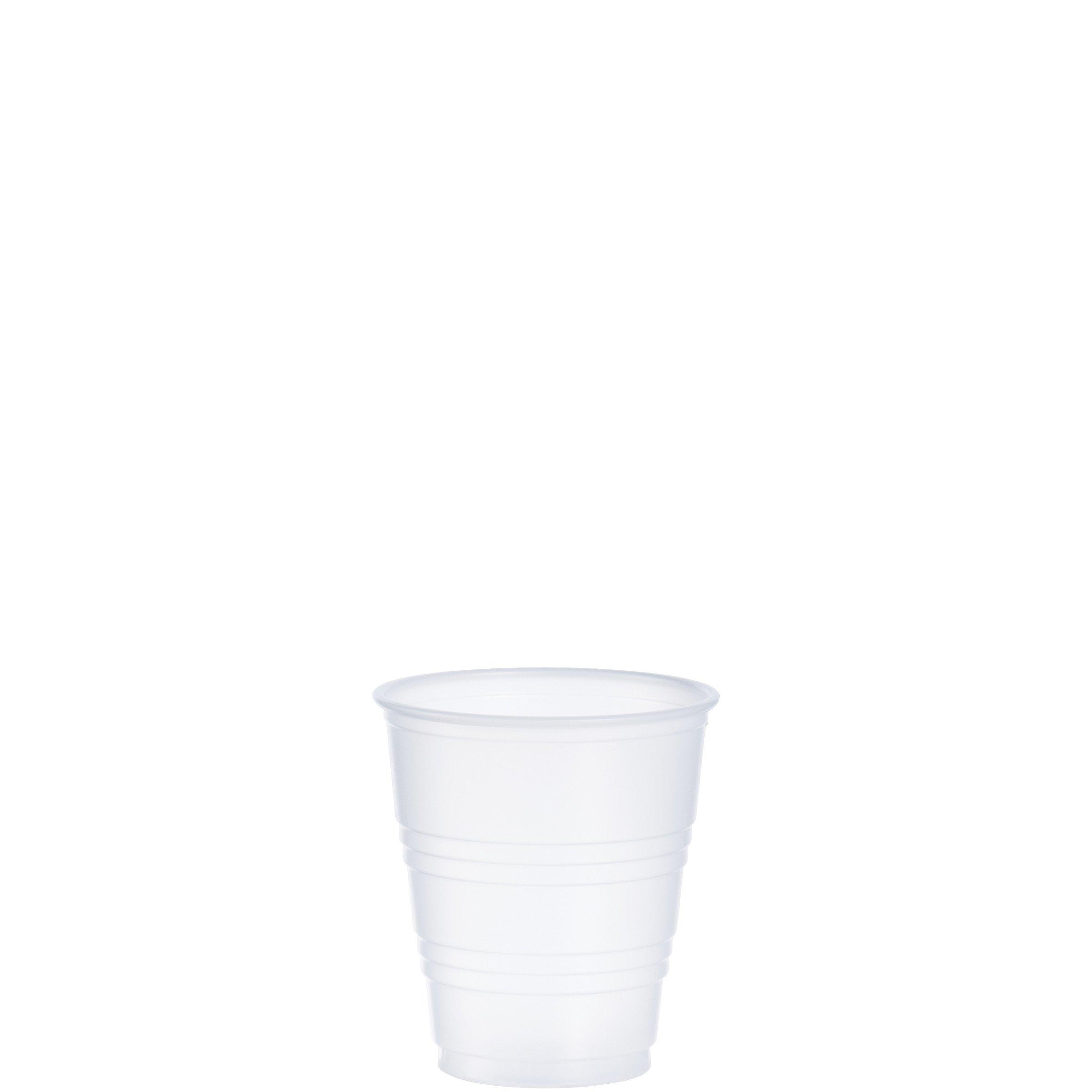 Dart Y5 5oz Cold Cup Tanslucent (Case of 2500)