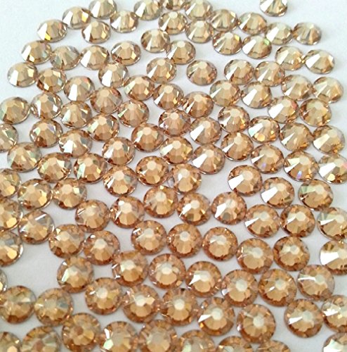 GOLDEN SHADOW Crystal Rhinestones Flatback 144 SWAROVSKI 4.8mm 20ss ss20