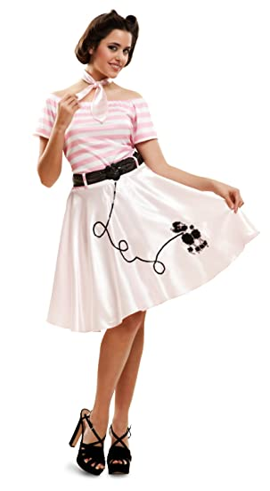 My Other Me Me - Disfraz Pink Lady Doggie para mujer, M-L (Viving Costumes