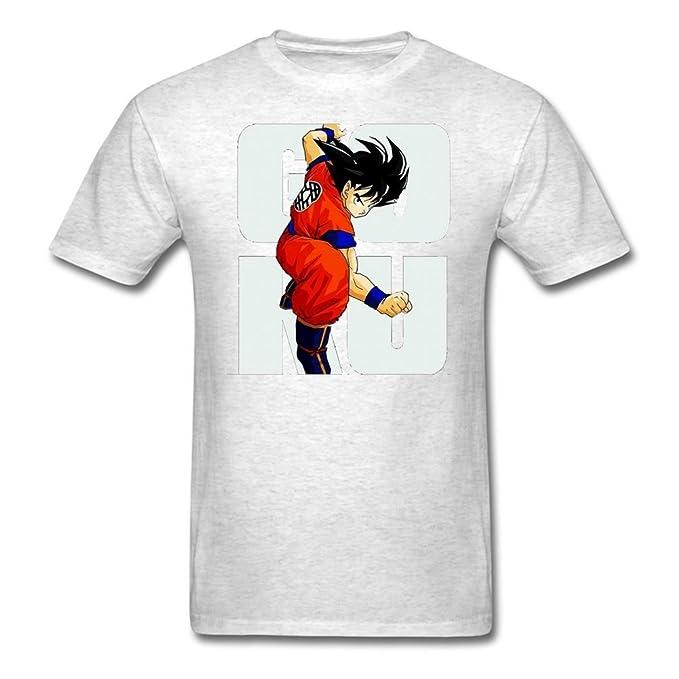 Style3 - Camiseta para hombre, diseño de Son Goku de Dragon Ball Z gray0 XXXX-Large: Amazon.es: Ropa y accesorios