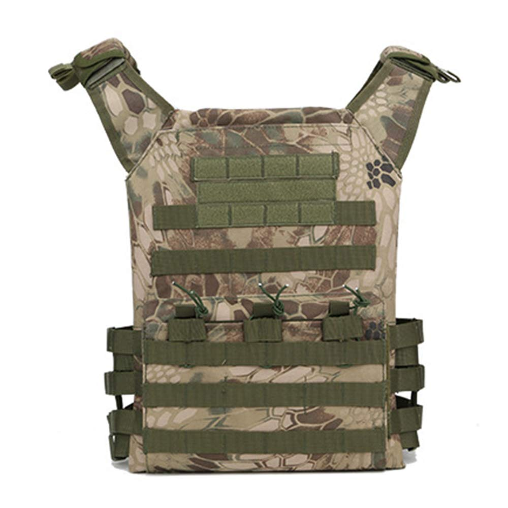戦術的なベスト,取り外し可能なEVA保護プレート,突き刺しにくい服テロ対策装甲戦闘保護 B07PHFPMZB