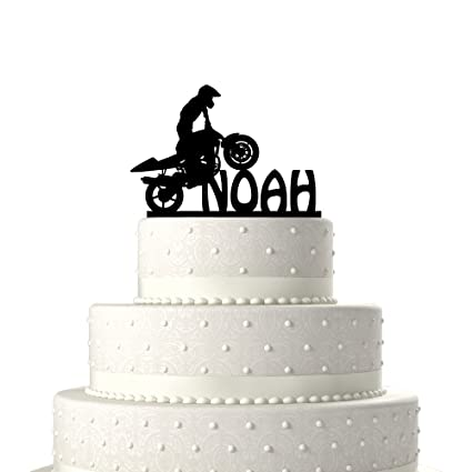 Personalized Cake Toppers Atv Freeestyle Birthday Decoration Acrylic Topper For Special Events